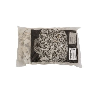 Grava de mármol blanco 0.25 pies cúbicos