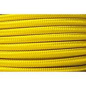 Cable iluminación textil calibre 18  1 m mango