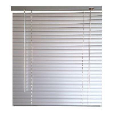 Persiana horizontal aluminio plata 120x160 cm