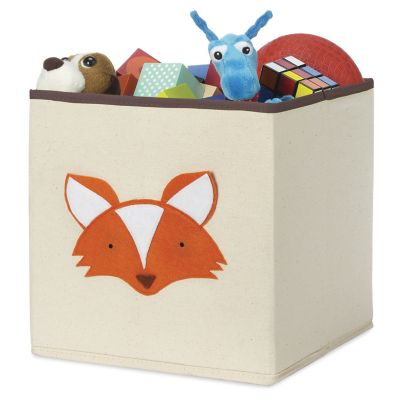 Cubo organizador zorro