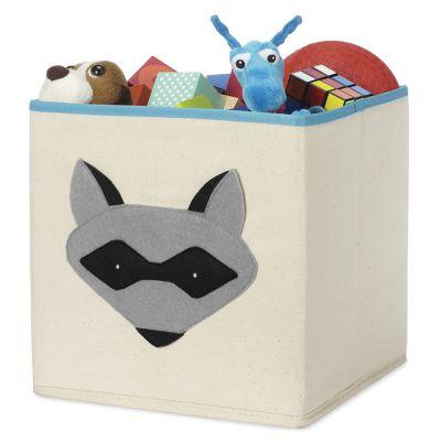 Cubo organizador mapache