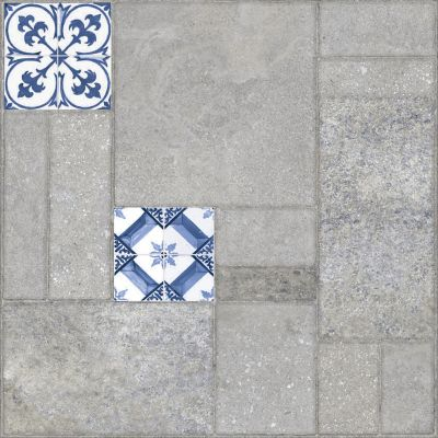 Muestra piso mallorca bleu 10x10 cm 28 pz