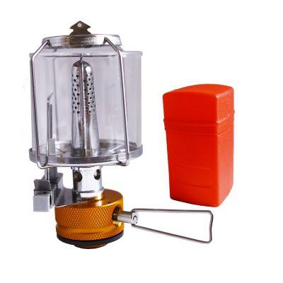 Lámpara para campismo con encendido electrónico