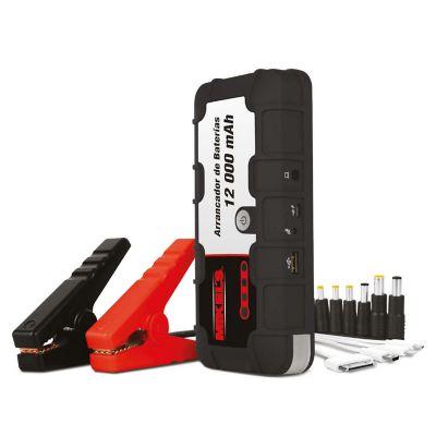 Mini arrancador bateria  12,000 mah