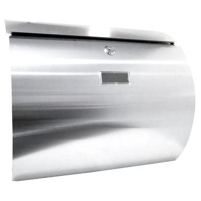 Buzón de acero inox 37.5 x 33.5 x 11 cm AI
