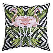 Cojín decorativo Flamingo 43x43 cm