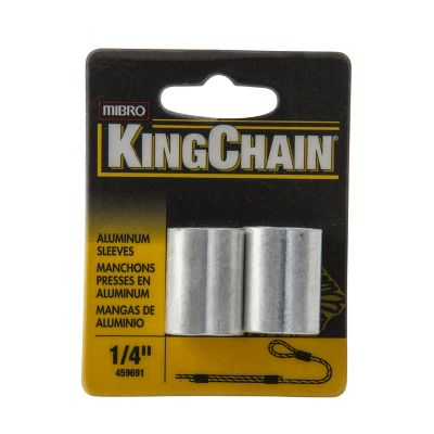 """Mangas p/cable de acero 1/4"""" x 2"""