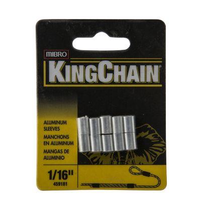 """Mangas p/cable de acero 1/16"""" x 10"""