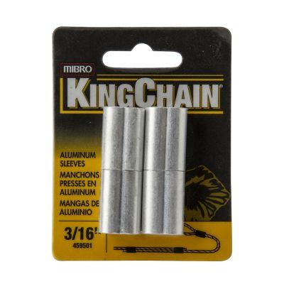 Mangas p/cable de acero 3/16 x 4