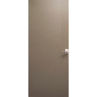 Puerta fibra de vidrio Barton gris 85 x 214