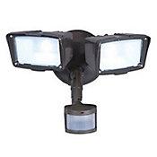 Luminaria LED c/sensor 180 grados 2000 LM