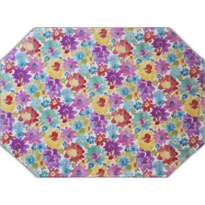 Mantel individual de flores