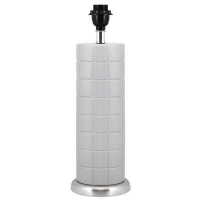 Lámpara mesa 60W Mila cerámica 1luz E26 45cm