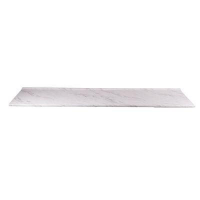 Cubierta ciega Euro copete bajo calcutta marble semibrillante