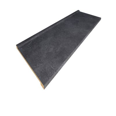 Cubierta ciega Euro copete bajo black alicante semibrillante