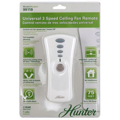 Control remoto universal para ventilador