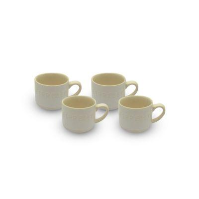 Set de tazas Expresos 4 piezas