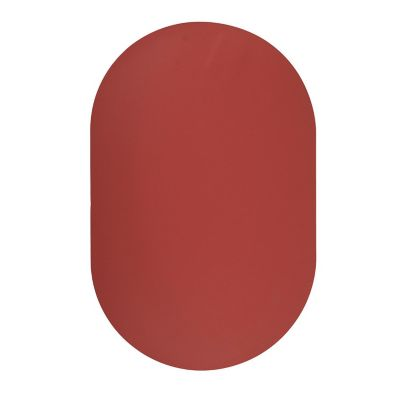 Mantel Liso de vinil oval