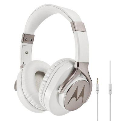 Audífonos tipo diadema blanco