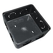Caja multiducto elect. cuadrada.  4 x 4