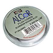 Soldadura alumi c/funden no corros en inte,no neces agreg fundent ext, dise par repa radiad,condensa alum