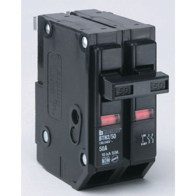 Interruptor termomagnético enchufable 2 x 50 A 120-240 V