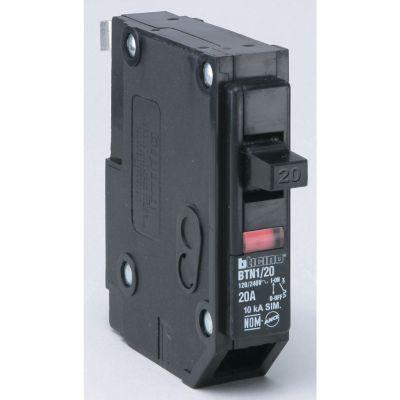 Interruptor termomagnético enchufable 1 x 20 A 120-240 V