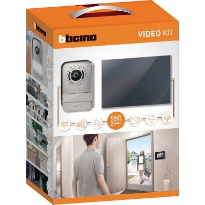 Kit de video interfón con monitor a color 7 pulgadas
