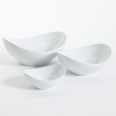 Set botaneros porcelana Gracious Dining 3 piezas