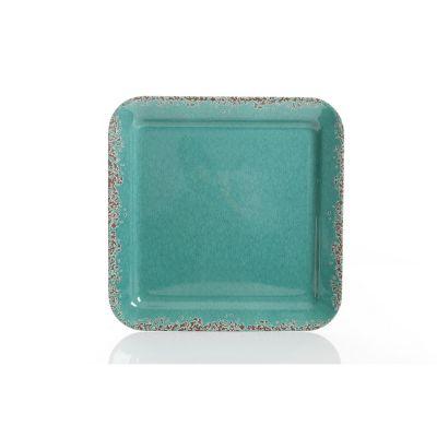 Charola 33.02 cm de melamina cuadrada