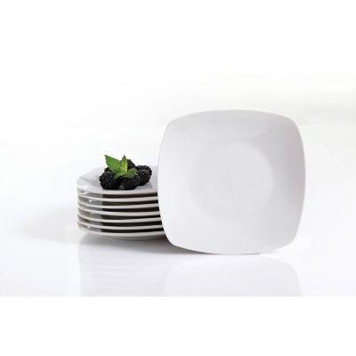 Vajilla Zen Buffertware 8 pzas porcelana cuadrada