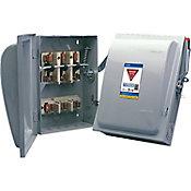 Interruptor de seguridad 3x100a gris 3ø 4h 120/240V/CA 50-60Hz nema 1