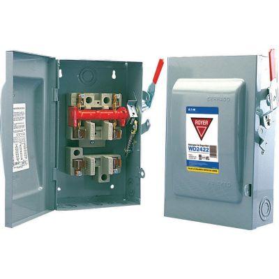 Interruptor de seguridad 2 x 60  120-240V 50-60 Hz gris