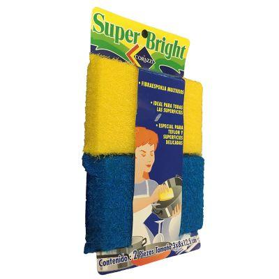 Pack de fibra esponjas multiuso 2 piezas