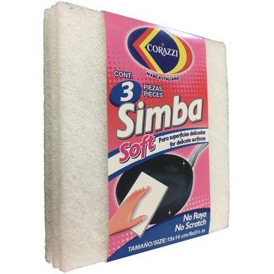 Set fibra Simba Soft 3 piezas