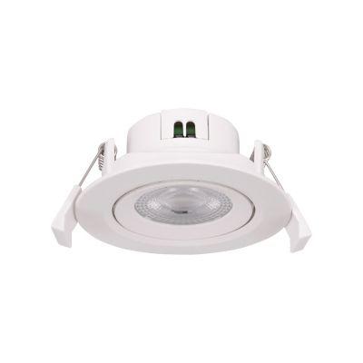 Lámpara Piso 6W circular cálida