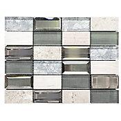 Malla Infinity gris 30x30 cm