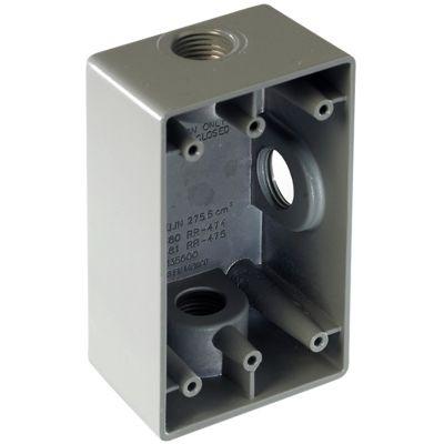 "Caja RR 3ø 12.7 (1/2"")"
