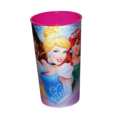 Vaso lenticular de Las Princesas 500 ml