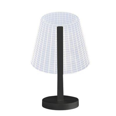 Lámpara escritorio 3D 8W cálida 110-240V