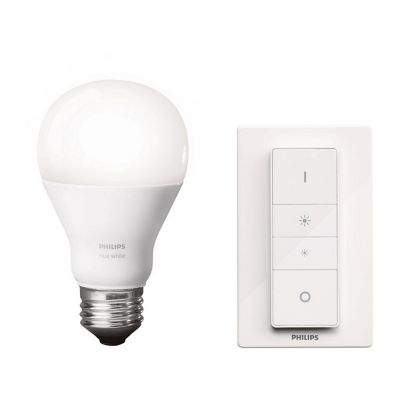 Set de iluminación hue A19 9.5W dim E26
