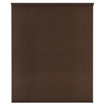 Persiana enrollable translúcida lino café 120x165 cm