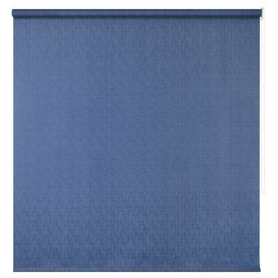 Persiana enrollable translúcida lino azul 120x165 cm