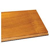 Muestra piso madera sólida Teak natural 10x10 cm