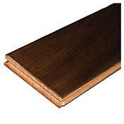 Muestra piso madera sólida Brazilian Cherry walnut 10x10 cm