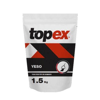 Topex yeso 1.5 Kg p/pequeñas reparaciones