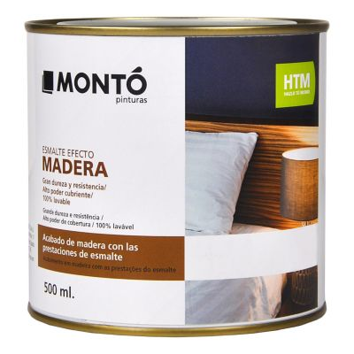 Esmalte Efecto Madera Caoba 500ml