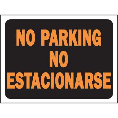 Senal Bilingue No Estacionarse/No Parking