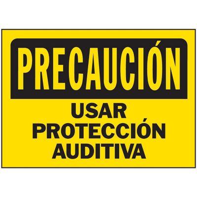 Senal Precaucion Usar Proteccion Auditiva