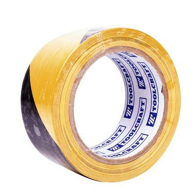 Cinta de Seguridad autoadherible color Amarillo y Negro